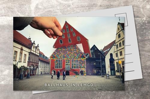 Postkarte 10x15 Ballhaus
