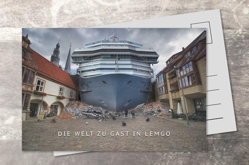 Postkarte 10x15 Das Schiff