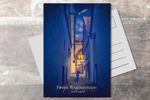 Postkarte 10x15 Xmas 2019 Weihnachtsmann