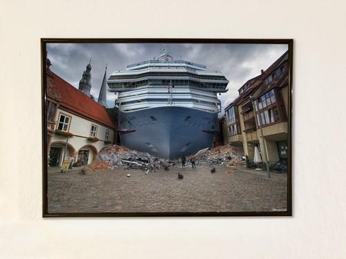 Poster 52,4x35 cm Schiff
