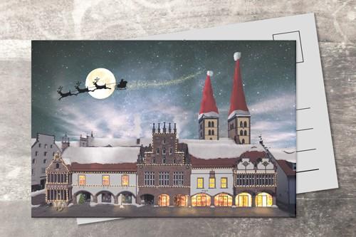 Postkarte 10x15 Xmas 2017