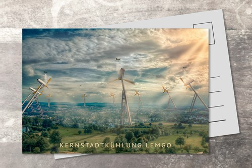 Postkarte 10x15 Kernstadtkühlung