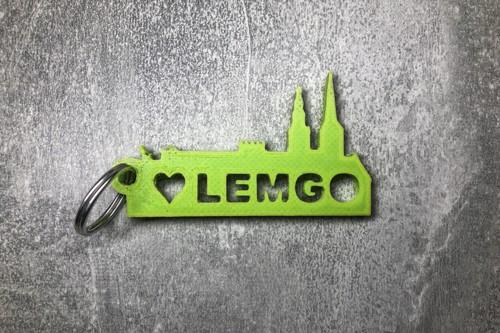 Schlüsselanhänger Lemgo grün