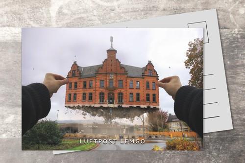 Postkarte 10x15 Luftpost