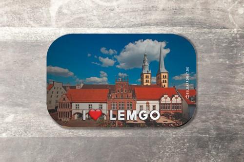Fotomagnet I love Lemgo 2