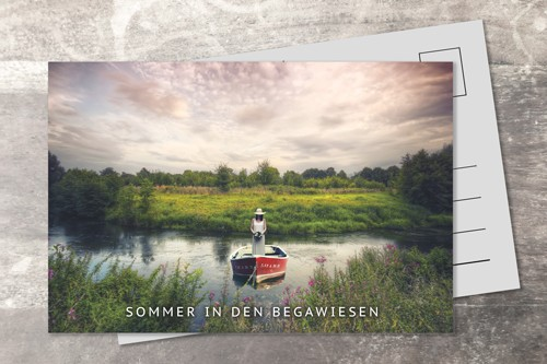 Postkarte 10x15 Begawiesen