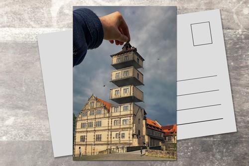 Postkarte 10x15 Turmlüftung