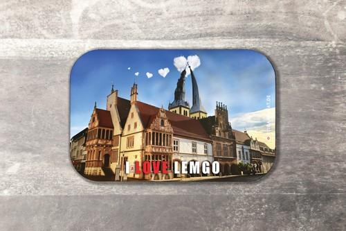 Fotomagnet I love Lemgo