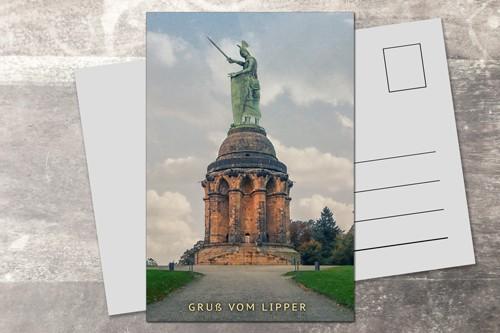 Postkarte 10x15 Gruß vom Lipper 2