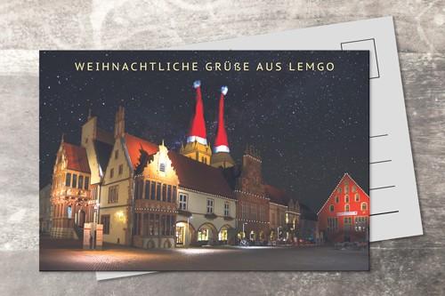 Postkarte 10x15 Xmas 2016
